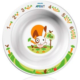 Тарелка глубокая малая от 6 мес SCF706/00 65630